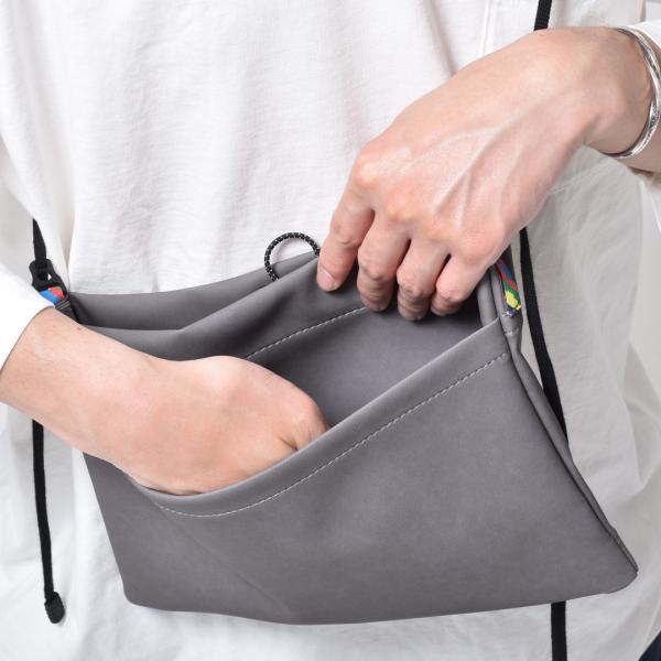 サコッシュ メンズ レディース ショルダー AIMAI sacoche 日本製 バッグ カバン 鞄 夏|sansuiya|02