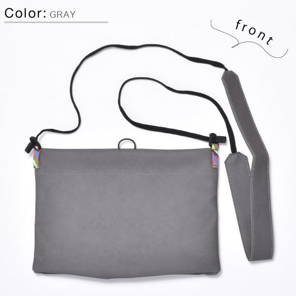 サコッシュ メンズ レディース ショルダー AIMAI sacoche 日本製 バッグ カバン 鞄 夏|sansuiya|12