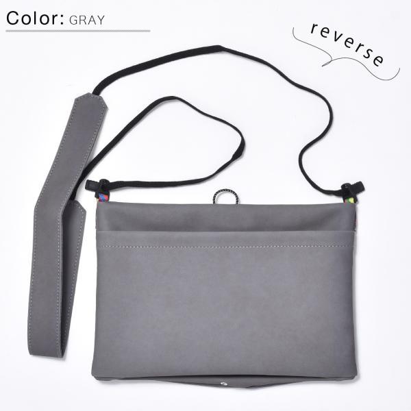 サコッシュ メンズ レディース ショルダー AIMAI sacoche 日本製 バッグ カバン 鞄 夏|sansuiya|13