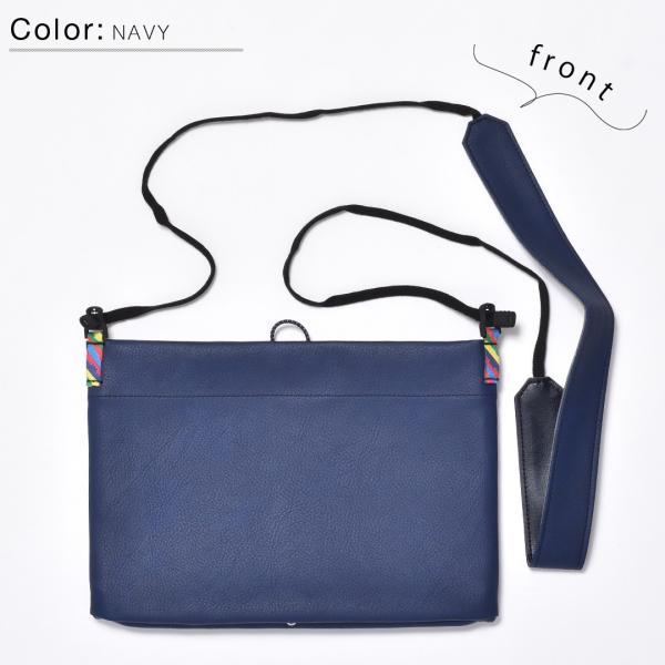 サコッシュ メンズ レディース ショルダー AIMAI sacoche 日本製 バッグ カバン 鞄 夏|sansuiya|16