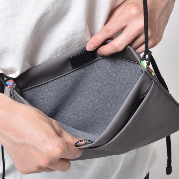サコッシュ メンズ レディース ショルダー AIMAI sacoche 日本製 バッグ カバン 鞄 夏|sansuiya|05