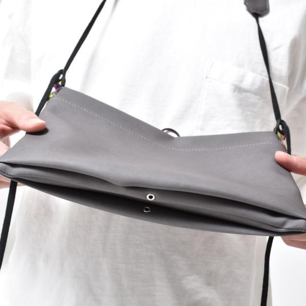 サコッシュ メンズ レディース ショルダー AIMAI sacoche 日本製 バッグ カバン 鞄 夏|sansuiya|08