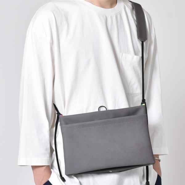 サコッシュ メンズ レディース ショルダー AIMAI sacoche 日本製 バッグ カバン 鞄 夏|sansuiya|09