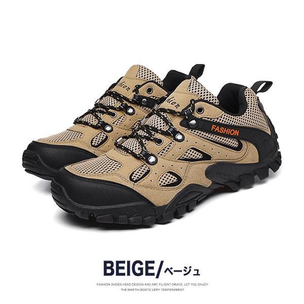 トレッキングシューズ メンズ 合成革靴 アウトドア カジュアル ウォーキング 登山 おしゃれ 紳士 冬|sansuiya|03