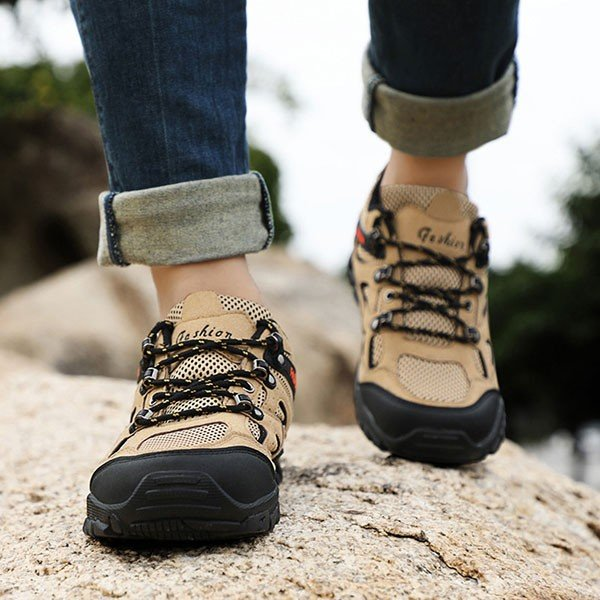 トレッキングシューズ メンズ 合成革靴 アウトドア カジュアル ウォーキング 登山 おしゃれ 紳士 冬|sansuiya|06