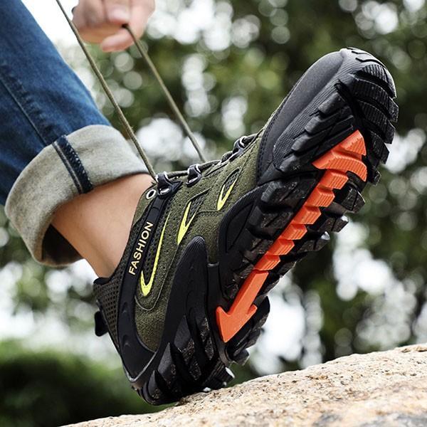 トレッキングシューズ メンズ 合成革靴 アウトドア カジュアル ウォーキング 登山 おしゃれ 紳士 冬|sansuiya|07