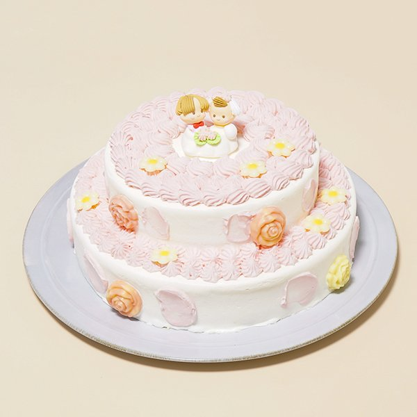 2段苺デコレーション5号×7号・バースデーケーキ・ウェディングケーキ・記念日・お祝いのギフト:送料無料 敬老の日