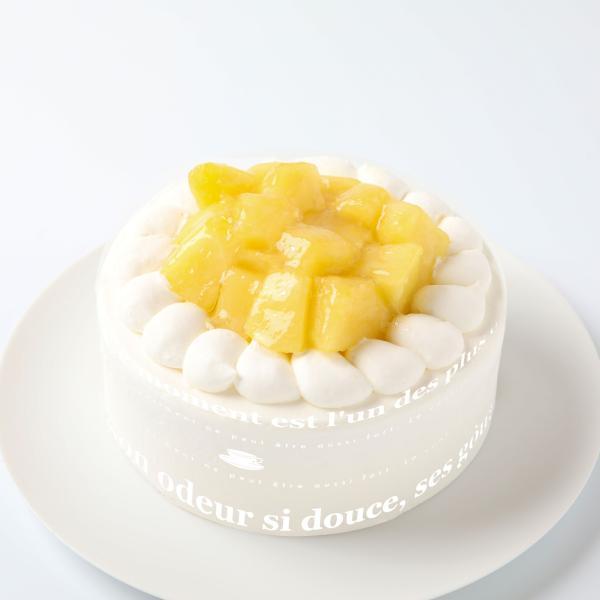 静岡産クラウンメロンのバースデーケーキ5号15センチ:送料無料 誕生日ケーキ 記念日 お祝い スイーツギフト 敬老の日