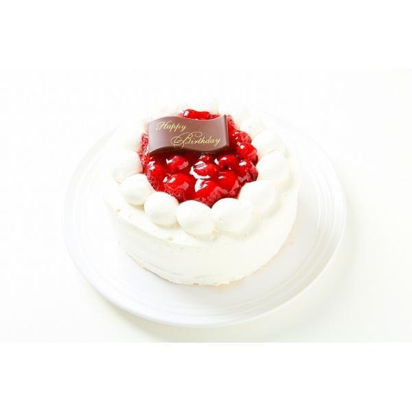 ラズベリーの生クリームケーキ6号18センチ:送料無料のバースデー・誕生日ケーキ・記念日お祝いのプレゼント 敬老の日