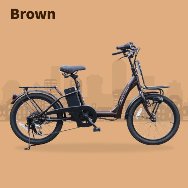 電動自転車 電動アシスト自転車459 子供乗せ装着可能 20インチ シマノ製6段変速機&最新後輪ロックキー&長持ちバッテリー搭載 Airbike|santasan|08