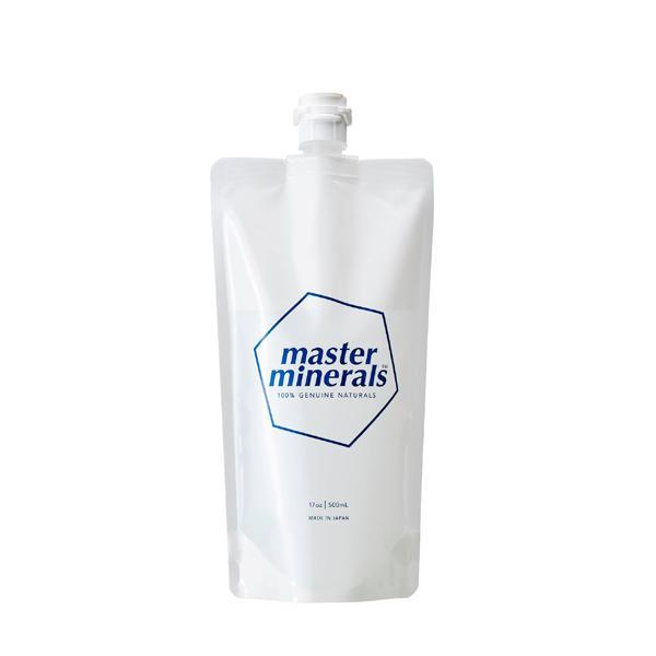 masterminerals マスターミネラル 500ml パウチタイプ 除菌 殺菌 消臭 掃除 洗剤 キッチン 浴槽 お風呂 シンク 天然素材 ミネラル 4571349140147