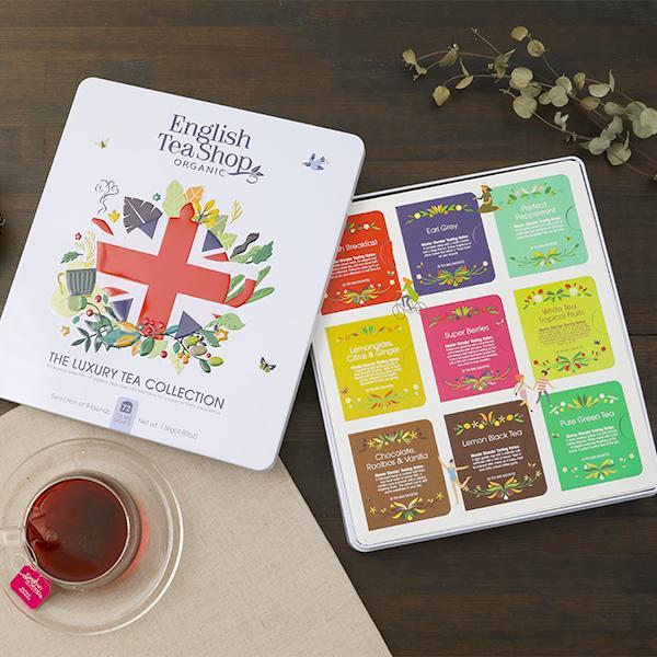 English Tea Shop UNION JACK GIFT TIN | 紅茶 オーガニック イングリッシュティーショップ ユニオンジャック ギフト 缶