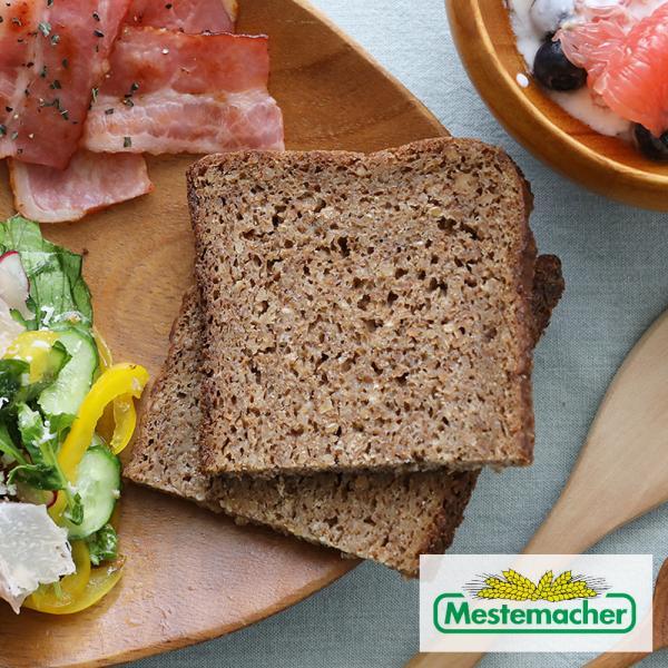 メステマッハー オーガニック 全粒粉ライブレッド (MESTEMACHER パン ドイツ ライ麦パン 有機JAS 低GI 低糖質 ギルトフリー)