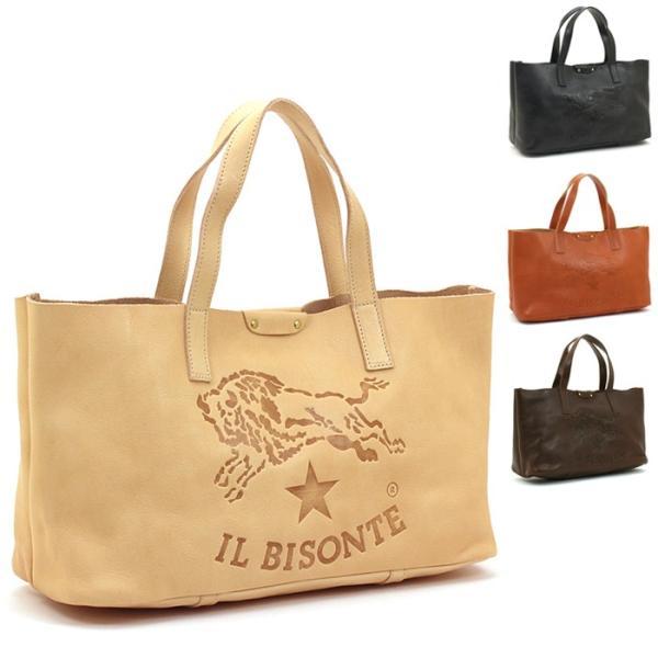 クーポン使えます 期間限定セール イルビゾンテ IL BISONTE トートバッグ A2666 P santnore