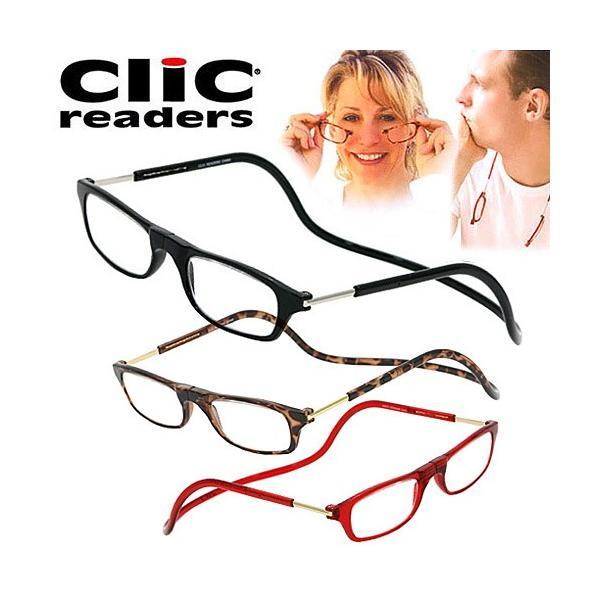 クリックリーダー clic readers シニアグラス リーディンググラス 老眼鏡 男性用 女性用 男女兼用 ユニセックス|santnore
