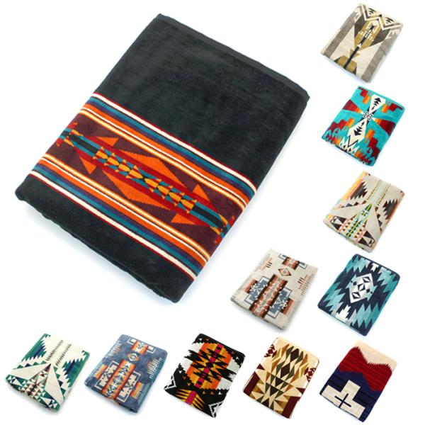 クーポン使えます ペンドルトン PENDLETON タオルブランケット スパタオル XB233 Oversized Jacquard Towels 約101×177cm|santnore