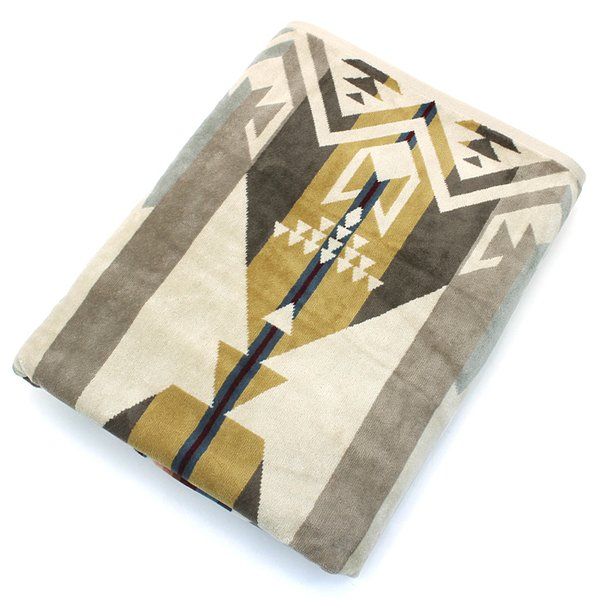 クーポン使えます ペンドルトン PENDLETON タオルブランケット スパタオル XB233 Oversized Jacquard Towels 約101×177cm|santnore|06