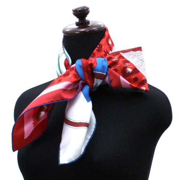 エルメス HERMES カレ スカーフ 王の羽飾り 002867S 09|santnore|02