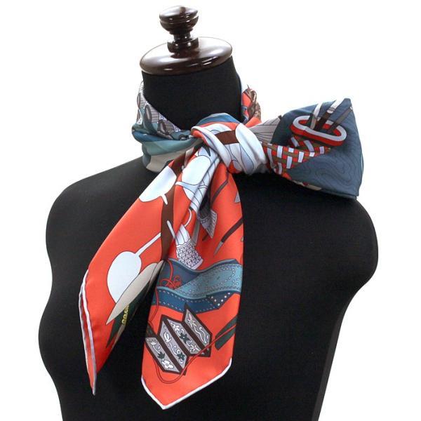 エルメス HERMES カレ スカーフ ある画家の宝物 003119S 17|santnore|02