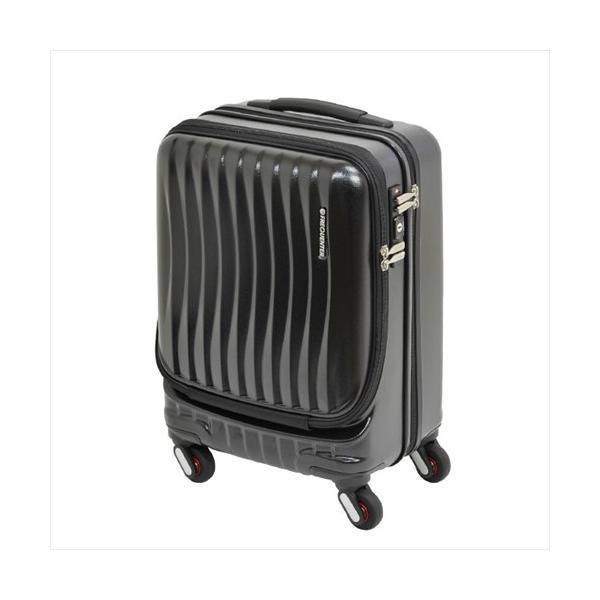スーツケース エンドー鞄 フリクエンター FREQUENTER静音 キャスター 4輪  ハードキャリー キャリーケース ストッパー付き 機内持込 鍵付 34L(即納)|sanwadirect|02