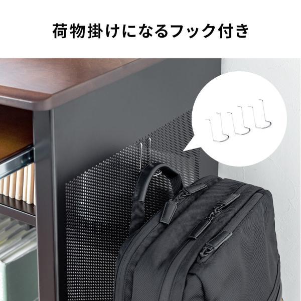 パソコンデスク 幅100cm 机|sanwadirect|13