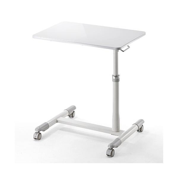 サイドテーブル ベットサイド テーブル ノートパソコン デスク スタンド(即納)|sanwadirect|09