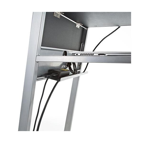 プロジェクター台 天板拡張機能付き(即納)|sanwadirect|03