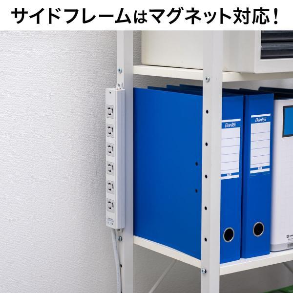 シェルフ 幅60cm マルチラック キッチンワゴン コンパクト 奥行き35cm 木製天板 スチール(即納)|sanwadirect|14