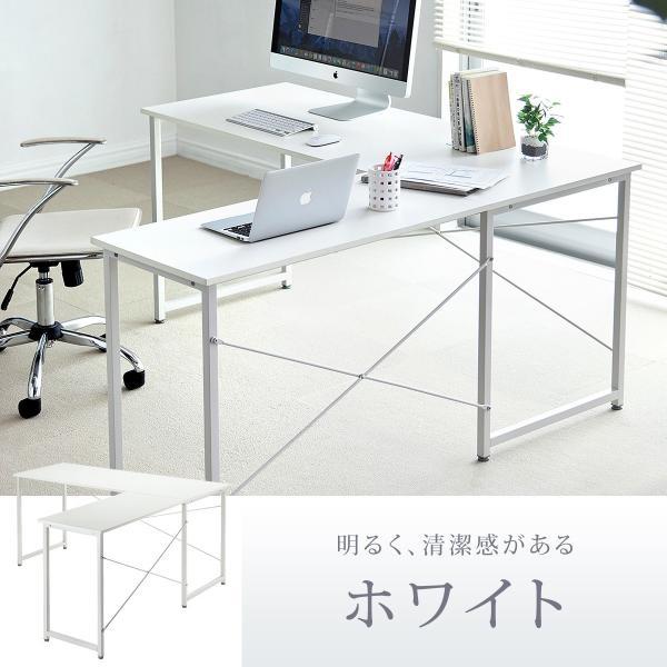 L字デスク パソコンデスク PCデスク おしゃれ 木製 ワイド L字型d sanwadirect 09