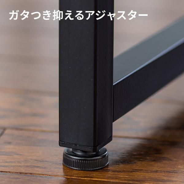 ローデスク 幅80cm パソコンデスク ロータイプ デスク ローテーブル 座デスク 勉強 学習 机 おしゃれ(即納)|sanwadirect|14