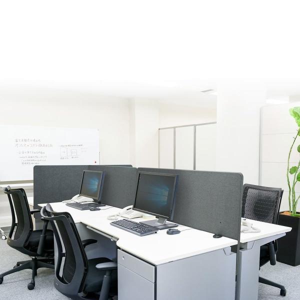 デスクトップパネル 仕切り 卓上 衝立 デスクパーテーション フェルト クランプ式 幅120cm オフィス(即納)|sanwadirect|14