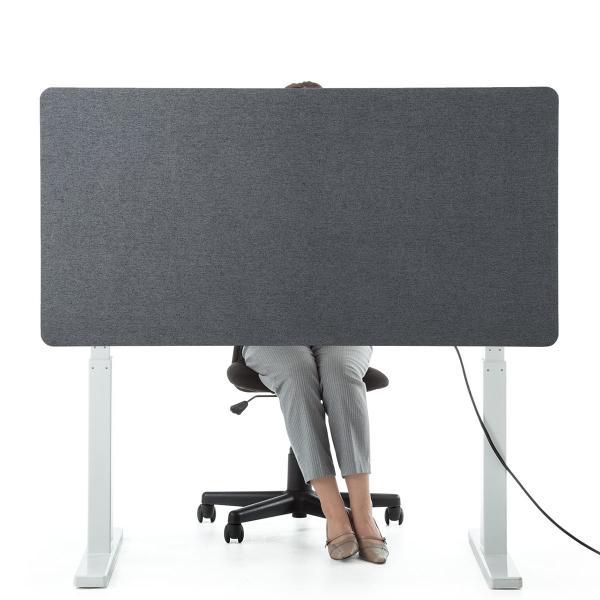 デスクトップパネル 仕切り 卓上 衝立 デスクパーテーション フェルト クランプ式 幅120cm オフィス(即納)|sanwadirect|15