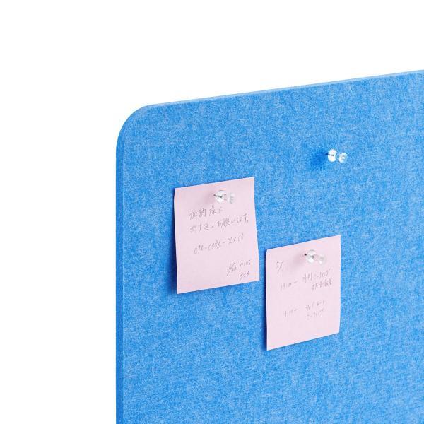 デスクトップパネル デスクパーティション 衝立 デスク パーテーション フェルト 600mm スタンド式 幅60cm 置き型|sanwadirect|17
