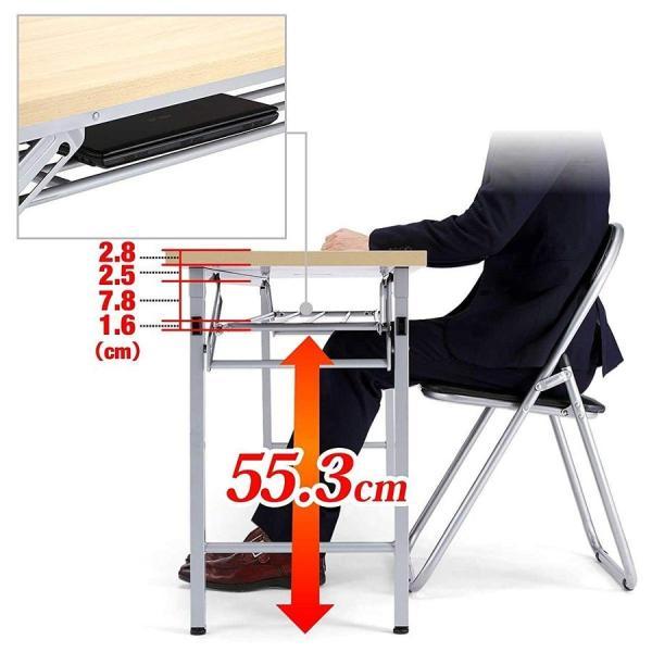 会議用テーブル 会議テーブル 折りたたみ 長机 幅180cm 奥行60cm 平机(即納) sanwadirect 12