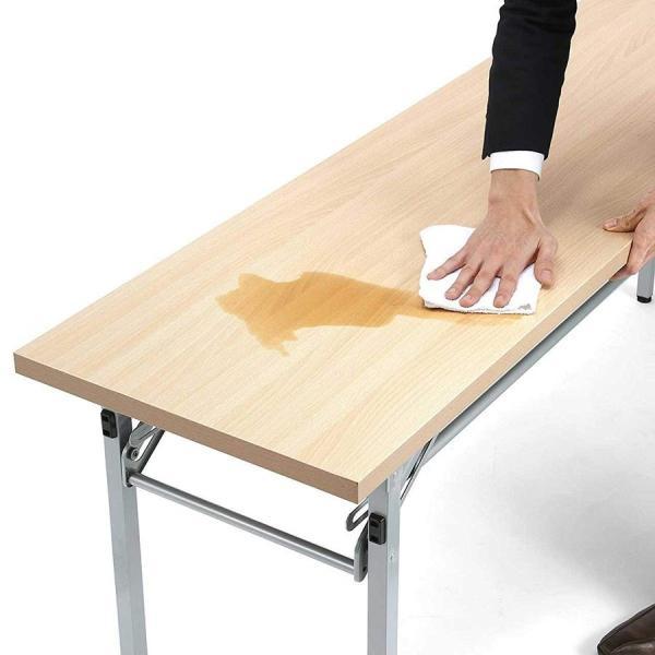 会議用テーブル 会議テーブル 折りたたみ 長机 幅180cm 奥行60cm 平机(即納) sanwadirect 14