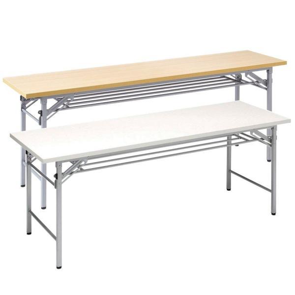 会議用テーブル 会議テーブル 折りたたみ 長机 幅180cm 奥行60cm 平机(即納) sanwadirect 20