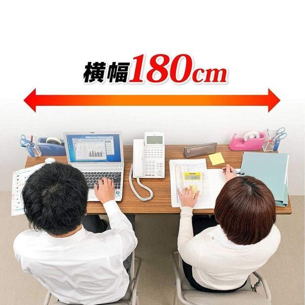 会議用テーブル 会議テーブル 折りたたみ 長机 幅180cm 奥行60cm 平机(即納) sanwadirect 10
