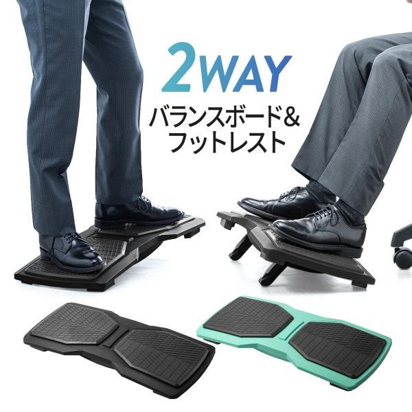 バランスボード 体幹トレーニング フットレスト 足置き エクササイズ ダイエット(即納) sanwadirect