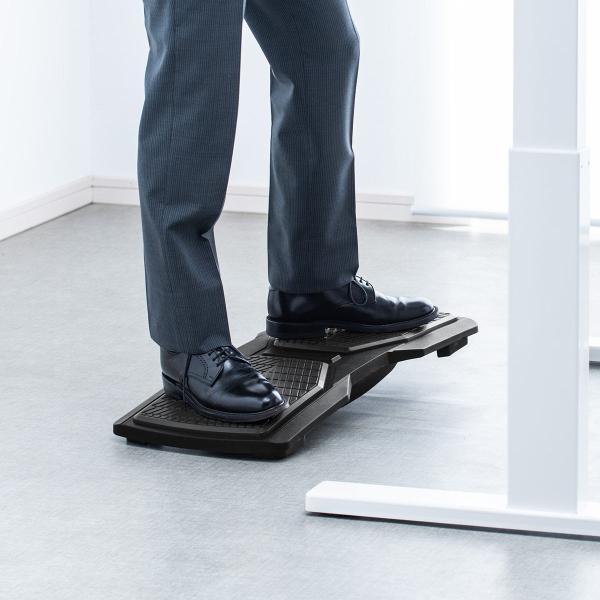 バランスボード 体幹トレーニング フットレスト 足置き エクササイズ ダイエット(即納) sanwadirect 15