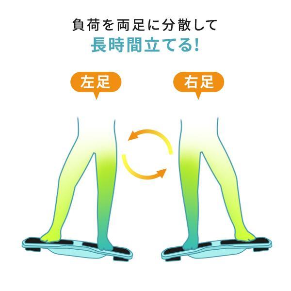 バランスボード 体幹トレーニング フットレスト 足置き エクササイズ ダイエット(即納) sanwadirect 03
