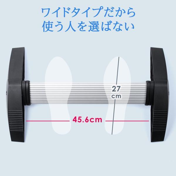 フットレスト(足置き・竹踏み風・角度調節可能・エルゴノミクス・耐荷重80kg)|sanwadirect|08