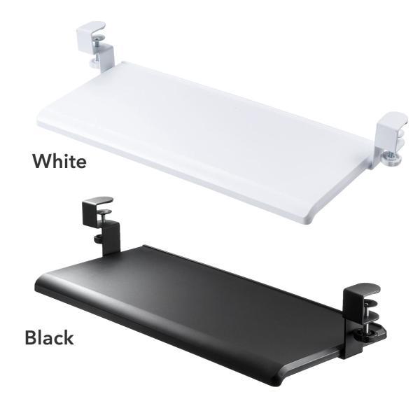 キーボードスライダー キーボード 収納 追加 後付け スペース デスク 置き スライド 机下 テーブル(即納)|sanwadirect|13