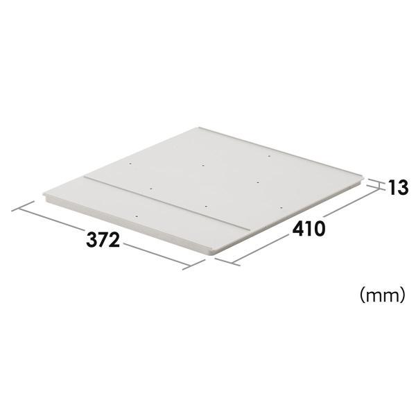 ロッカー プラスチックロッカー用棚板 100-LBOX001BL 100-LBOX002BL 100-LBOX003BL専用 奥行41cm(即納)|sanwadirect|02