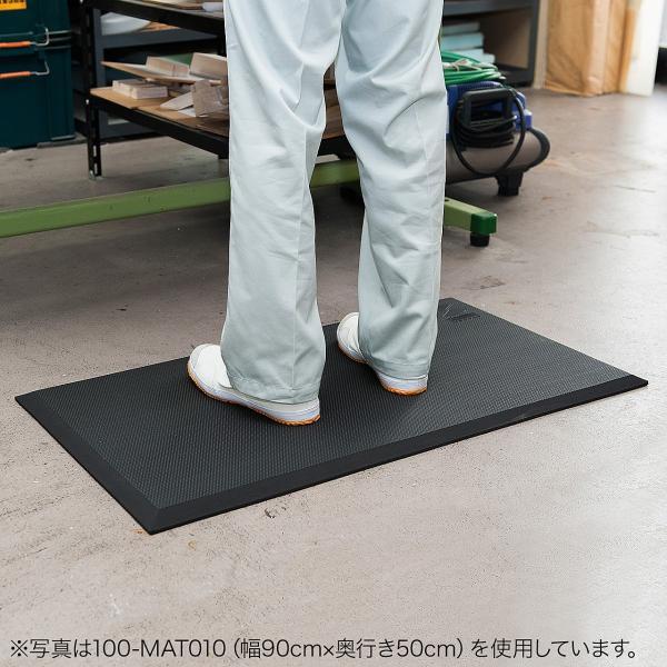 疲労軽減 マット 立ち作業 滑り止め 冷え防止 幅150cm(即納)|sanwadirect|12