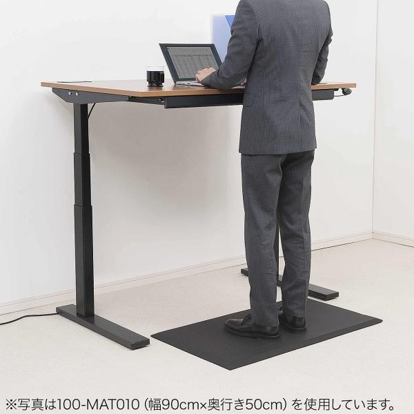 疲労軽減 マット 立ち作業 滑り止め 冷え防止 幅150cm(即納)|sanwadirect|06