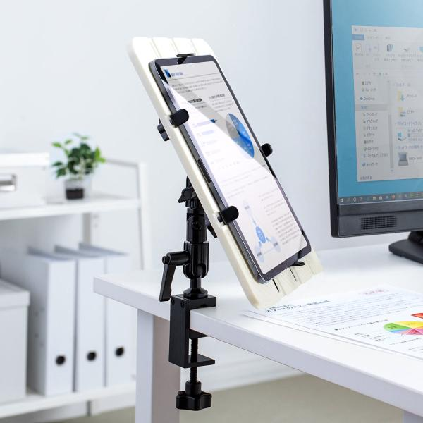 タブレットスタンド アーム iPad アームスタンド(即納) sanwadirect 08