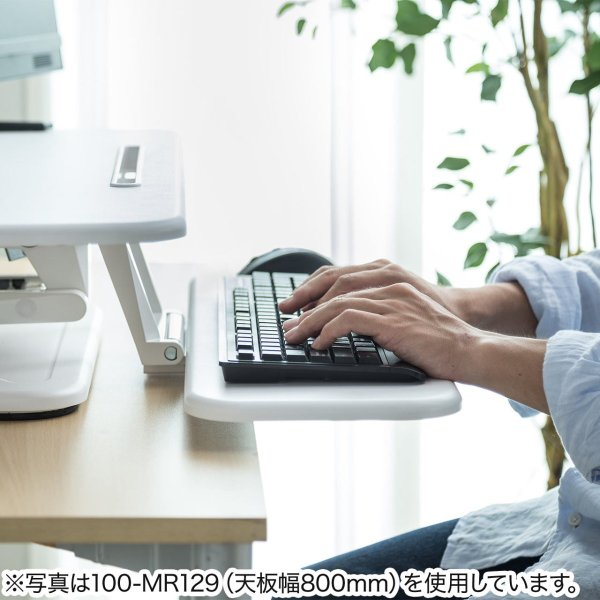 昇降式デスク スタンディングデスク 高さ調整 コンパクト(即納)|sanwadirect|13