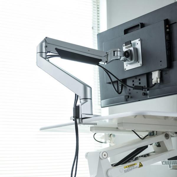 昇降式デスク スタンディングデスク 高さ調整 コンパクト(即納)|sanwadirect|15