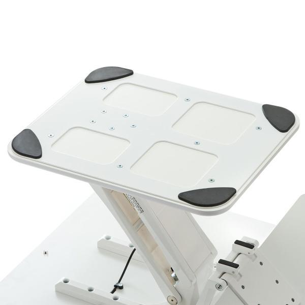 昇降式デスク スタンディングデスク 高さ調整 コンパクト(即納)|sanwadirect|16