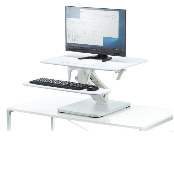 昇降式デスク スタンディングデスク 高さ調整 コンパクト(即納)|sanwadirect|20